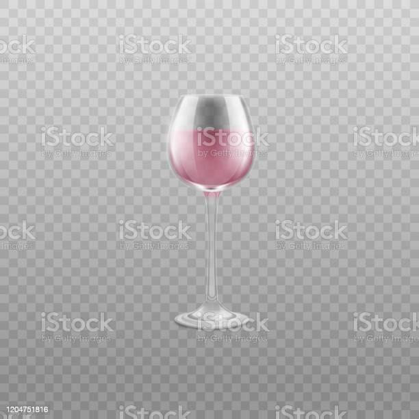 Realistic clear wine glass with light pink alcohol drink vector vector id1204751816?b=1&k=6&m=1204751816&s=612x612&h=mffxo8qfqzig0pgii26gaxlq12wejrmsob mgi4lpkm=