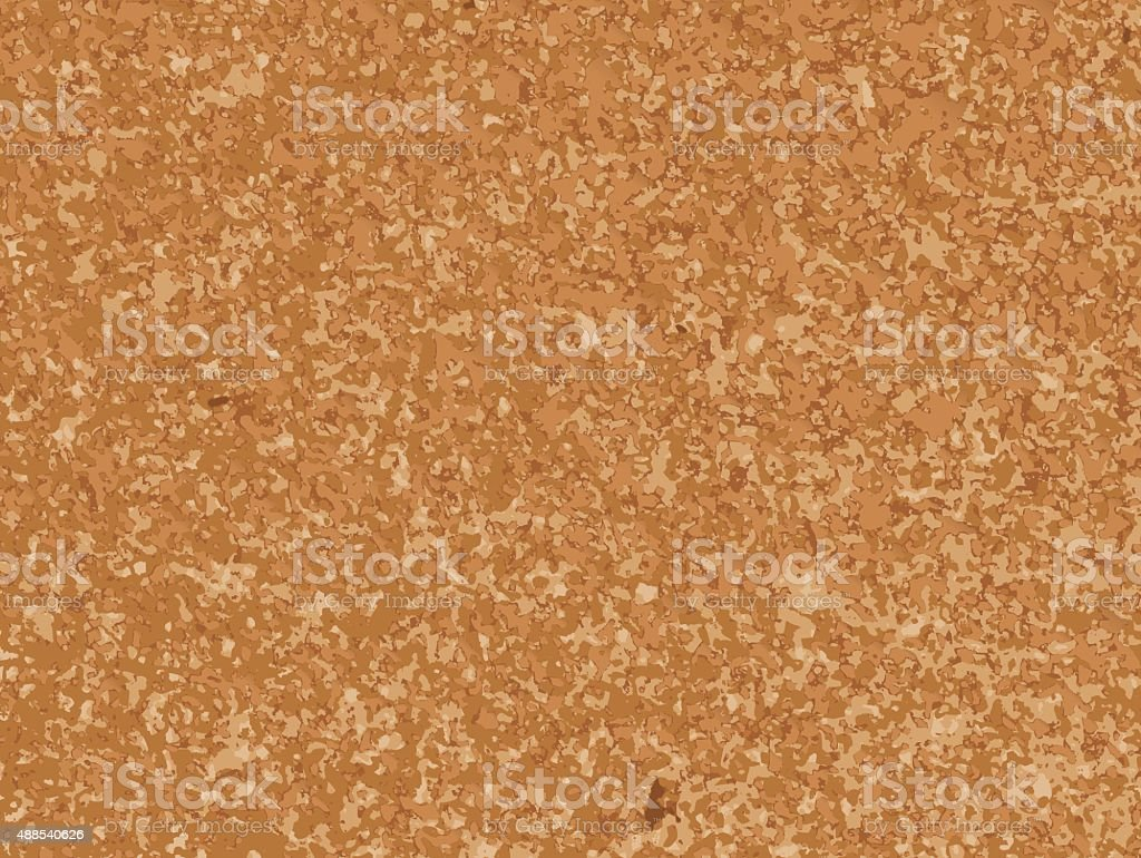 Realistic Cork Board Illustration Texture Background vector art illustration