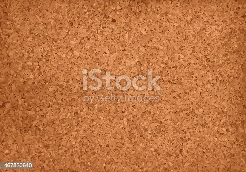 istock Realistic Cork Material Grunge Background 467820640