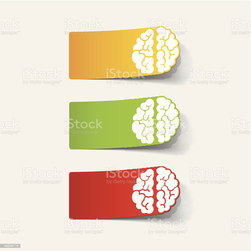 realistic design element: brain royalty-free realistic design element brain stock vector art & more images of anatomy