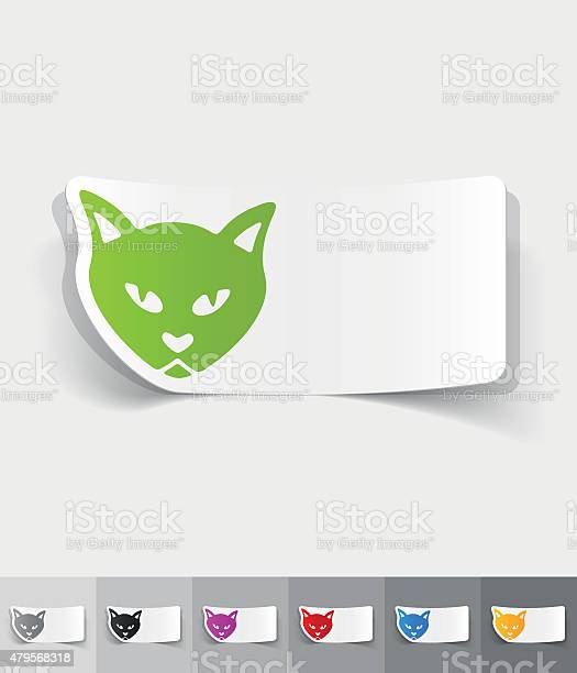 Realistic design element cat vector id479568318?b=1&k=6&m=479568318&s=612x612&h=iicyz6gd1bo4izbnbh5 gpyqr btyrdvffwoljqd1cs=