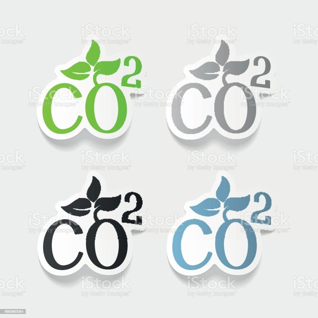 realistic design element: co2 sign dioxide royalty-free realistic design element co2 sign dioxide stock vector art & more images of analyzing