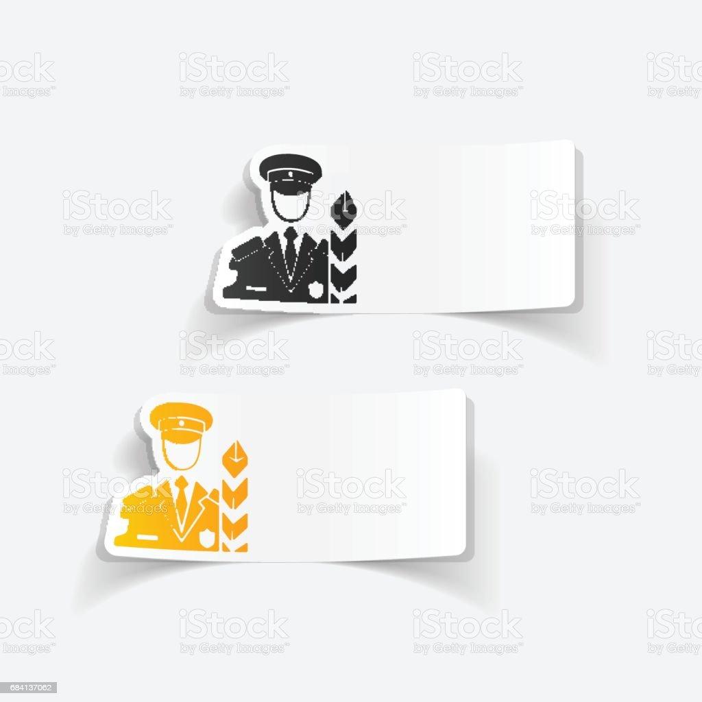Réaliste design element. douane Inspecteur réaliste design element douane inspecteur – cliparts vectoriels et plus d'images de adulte libre de droits