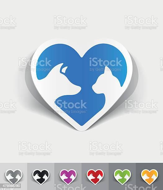 Realistic design element friendship cat and dog vector id479568290?b=1&k=6&m=479568290&s=612x612&h= je rz2pvdpqovbsmzzh bggoupifzqquzdluh0lkzw=