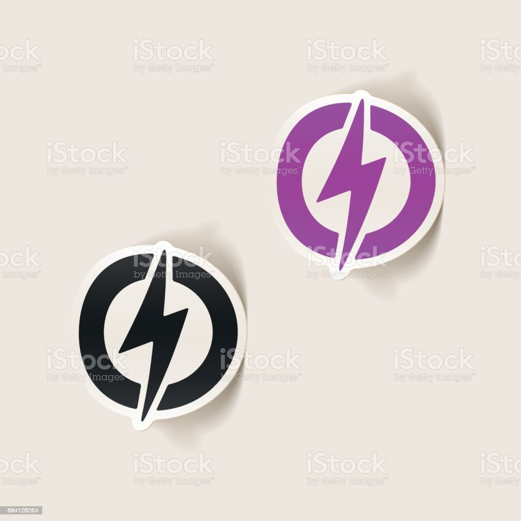 realistic design element: lightning bolt royalty-free realistic design element lightning bolt stock vector art & more images of analyzing