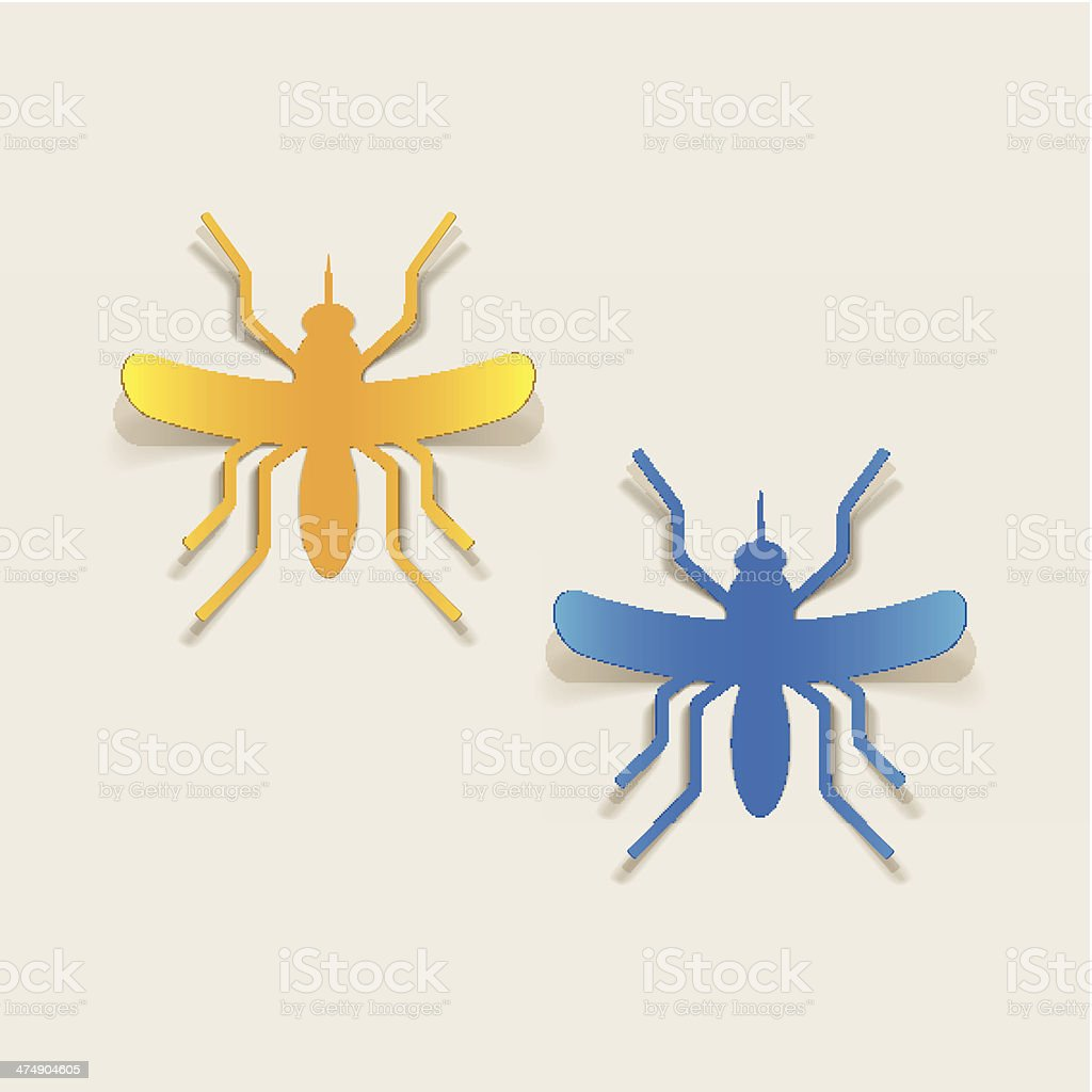 realistic design element: mosquito royalty-free realistic design element mosquito stock vector art & more images of biology