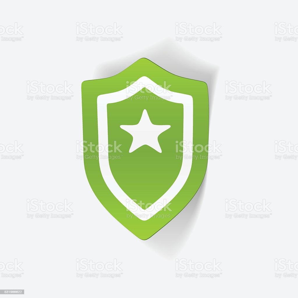 Realistic Design Element Police Badge Stock Vector Art More Images