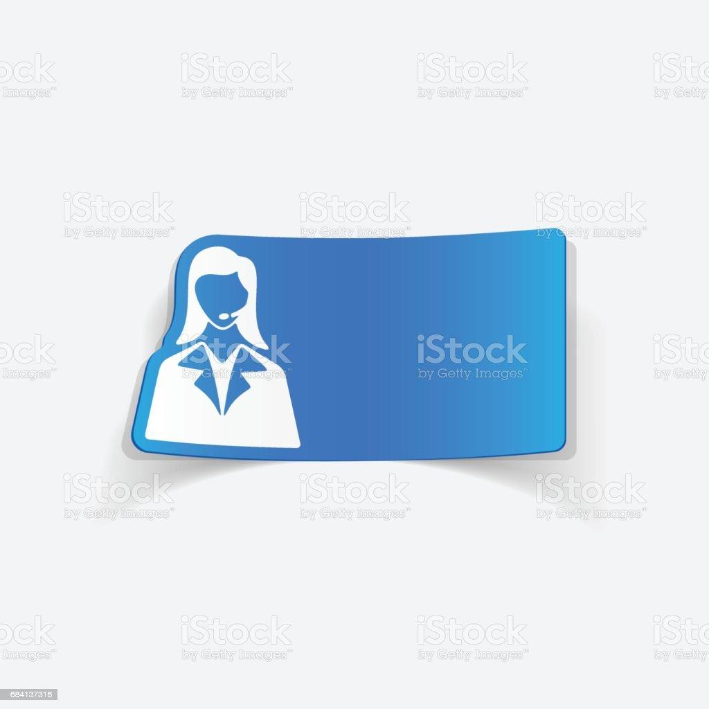 Elemento de diseño real de teléfono operador  ilustración de elemento de diseño real de teléfono operador y más banco de imágenes de adulto libre de derechos