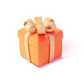 istock Realistic Detailed 3d Gift Box. Vector 1305342849
