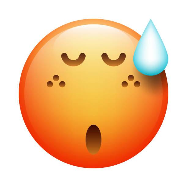 Emoji realista - ilustración de arte vectorial