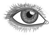 Realistic Eye Close-Up