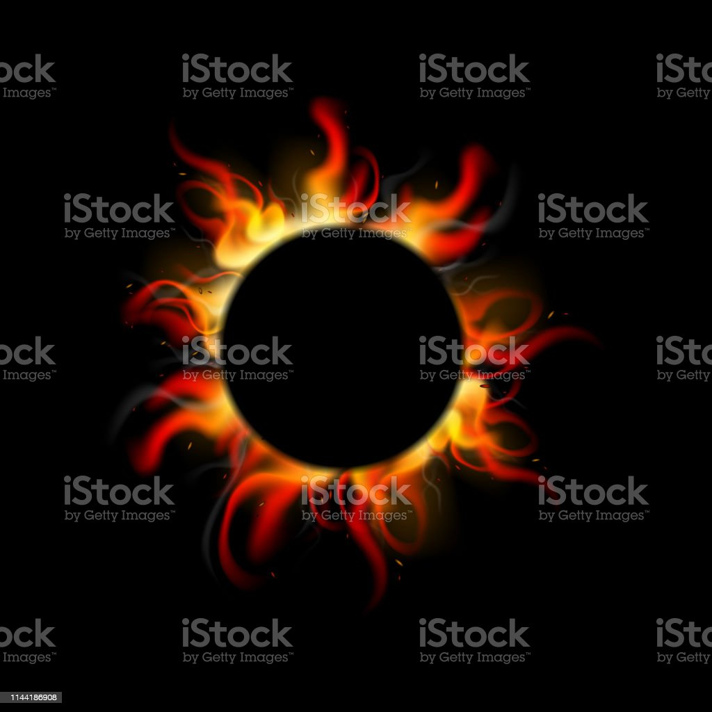 abstract fire background design illustration vector
