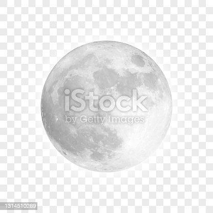 istock Realistic full moon 1314510269