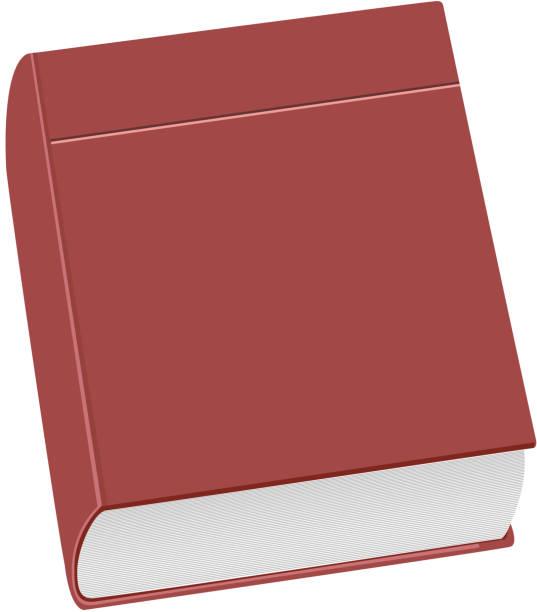 ilustraciones, imágenes clip art, dibujos animados e iconos de stock de ilustración realista cerrado libro - suministros escolares