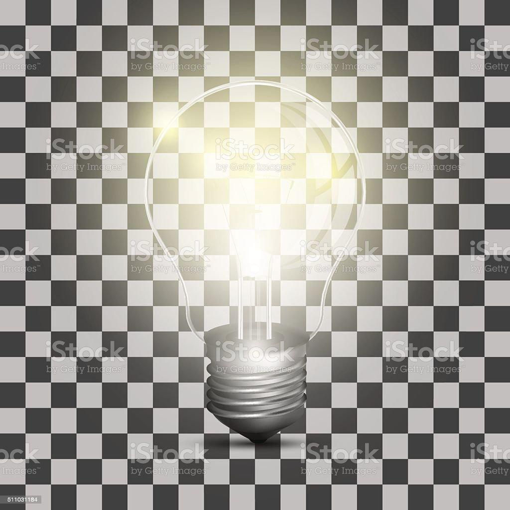 現実的です の電球の透明背景 のイラスト素材 511031184 | istock