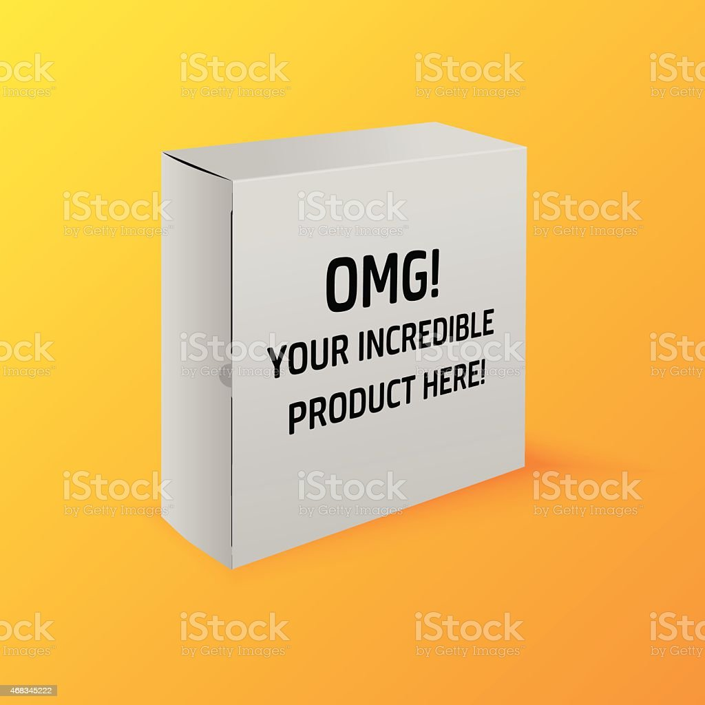 Realistic package box royalty-free realistic package box stock vector art & more images of 2015