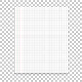 Realistic paper note on isolated background