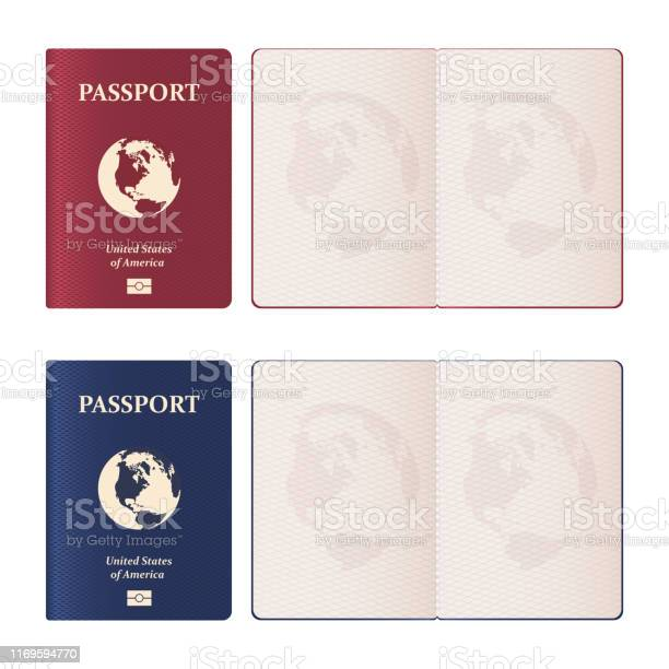 Realistic passport vector design illustration isolated on white vector id1169594770?b=1&k=6&m=1169594770&s=612x612&h=6rumtphfrn9fe4oybil1mbvkdbp kulvcjq4202lmxs=