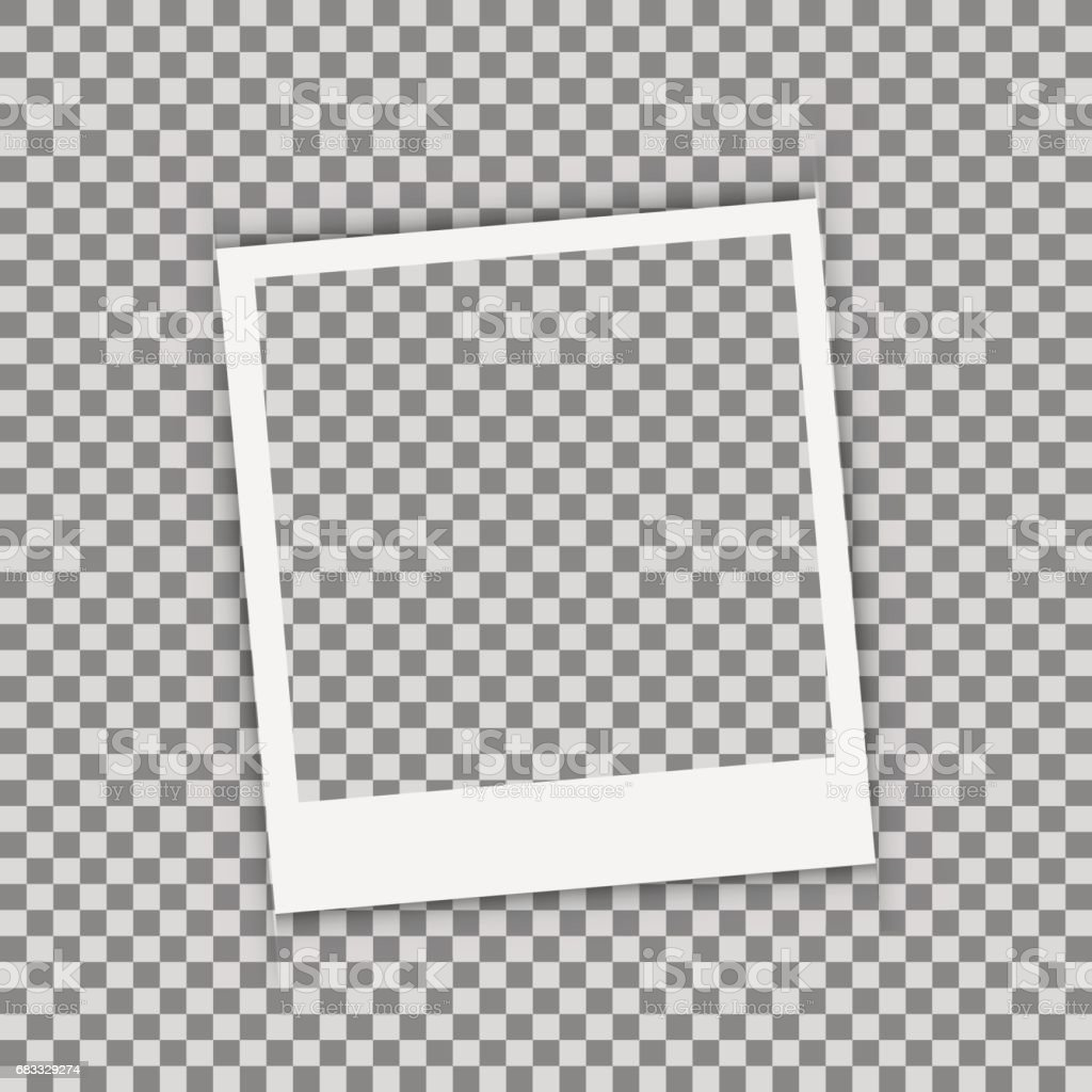 Realistic picture frame isolated on white background. royalty-free realistic picture frame isolated on white background stock vector art & more images of abstract