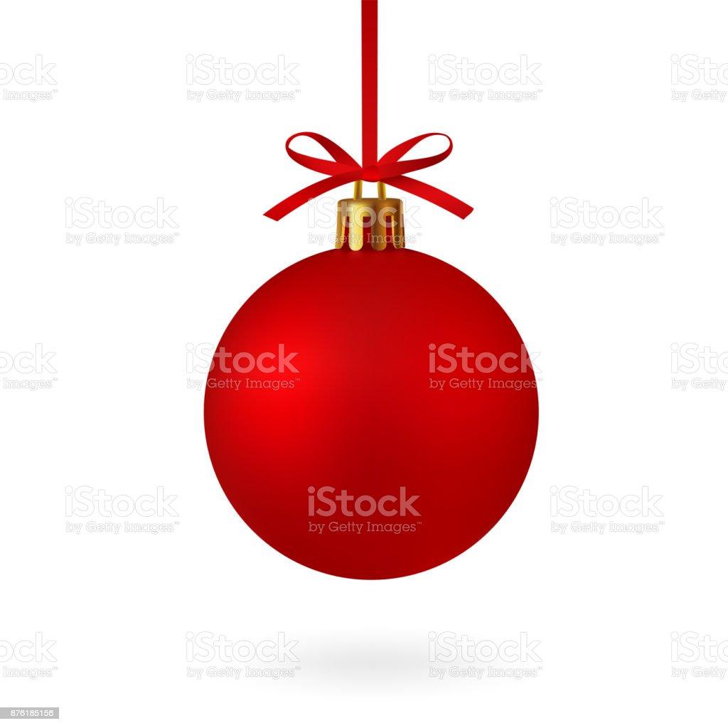 Dibujo Bola De Navidad Con Lazo