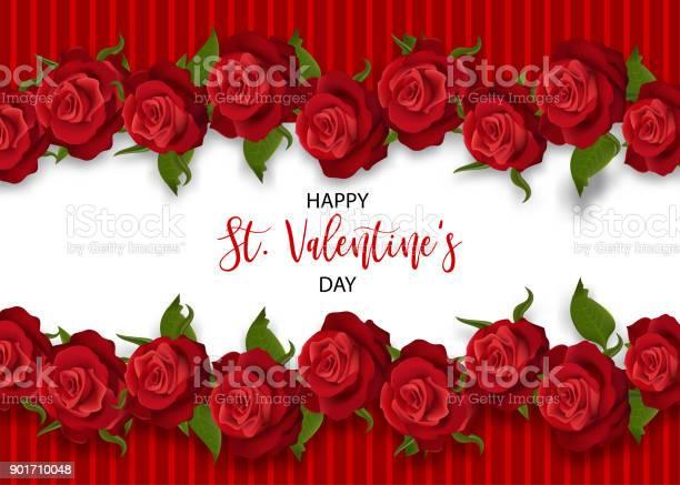 Realistic red rose valentines card vector id901710048?b=1&k=6&m=901710048&s=612x612&h=0djhsbke1ewtbarscae6 jl ymitlotv prp oh5jks=