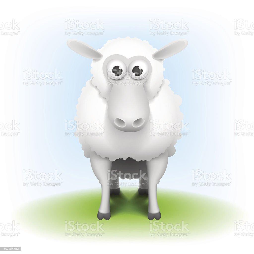 リアルな羊のベクトルイラスト のイラスト素材 507924683   istock