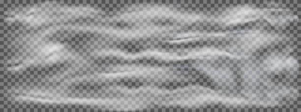 stockillustraties, clipart, cartoons en iconen met realistische rook, mist of nevel transparant effect geïsoleerd op donkere achtergrond. realistische geïsoleerde wolk op een donkere transparante achtergrond – voorraad vector - mist