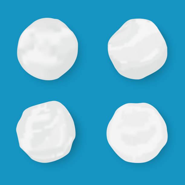 illustrazioni stock, clip art, cartoni animati e icone di tendenza di realistic snow globe - grandine