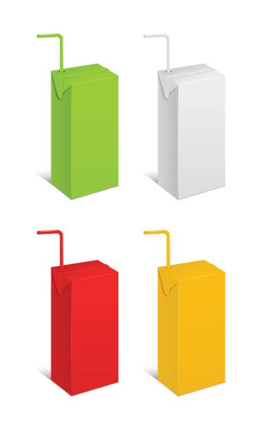 Royalty Free Juice Box Clip Art, Vector Images ...