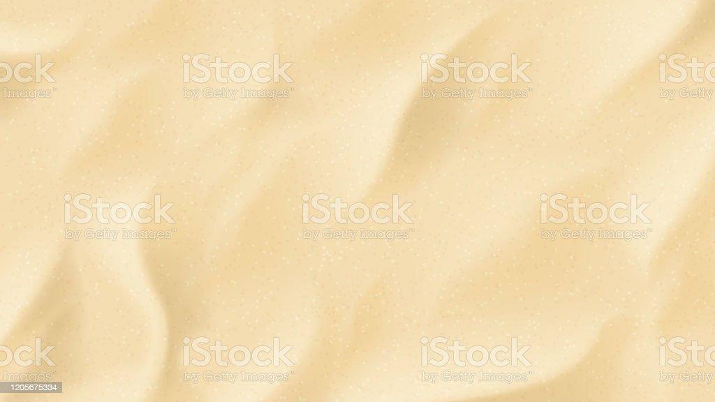 Реалистичная текстура пляжного песка - Векторная графика Векторная графика роялти-фри