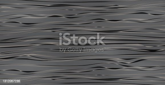 istock Realistic texture pattern of dark wood, background - Vector 1312057235