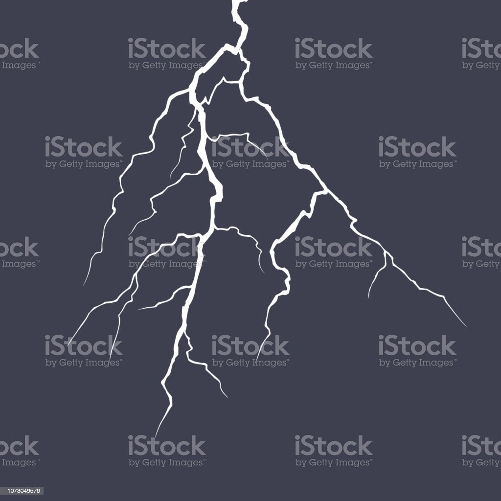Lightning Strike Clip Art