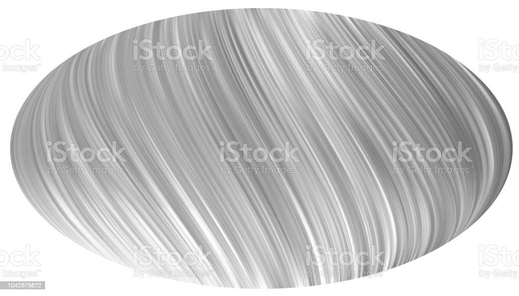 Realistic Vector Oval Plastic Wrapper Stock Vector Art