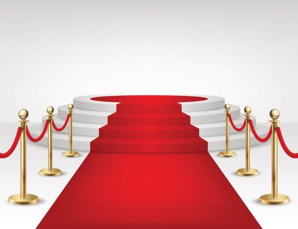 Best Red Carpet Entrance Illustrations Royalty Free