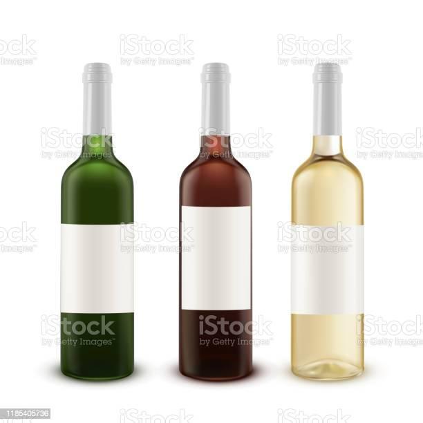 Realistic vector set of wine bottles of various colors of glass vector id1185405736?b=1&k=6&m=1185405736&s=612x612&h=abrntej u62pguvav4wt8oqxbo4v53i 0zeitpckskq=