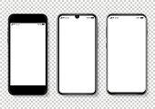 istock Realistic vector Smartphone Illustration 1141533939
