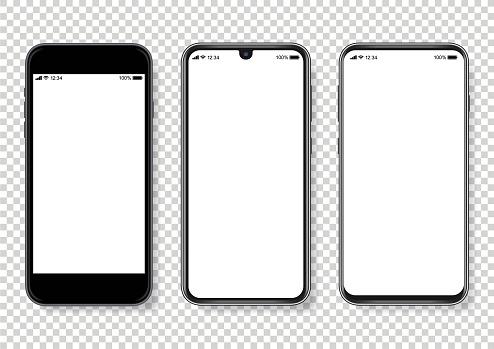 Realistic vector Smartphone Illustration