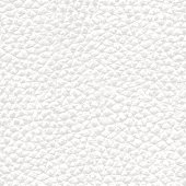Realistic White Seamless Leather Background Texture - Illustration