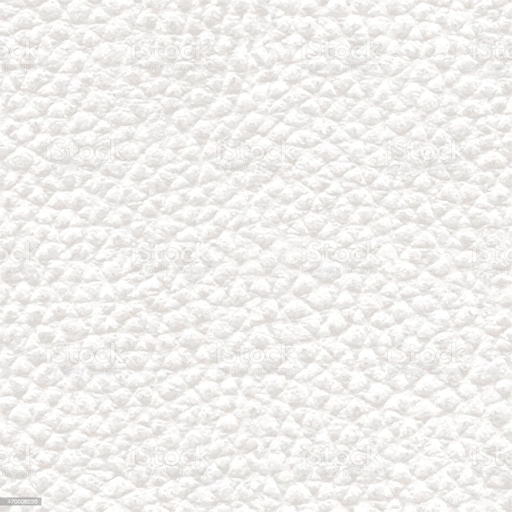 Realista de cuero blanca textura de fondo sin costuras-Ilustración - ilustración de arte vectorial