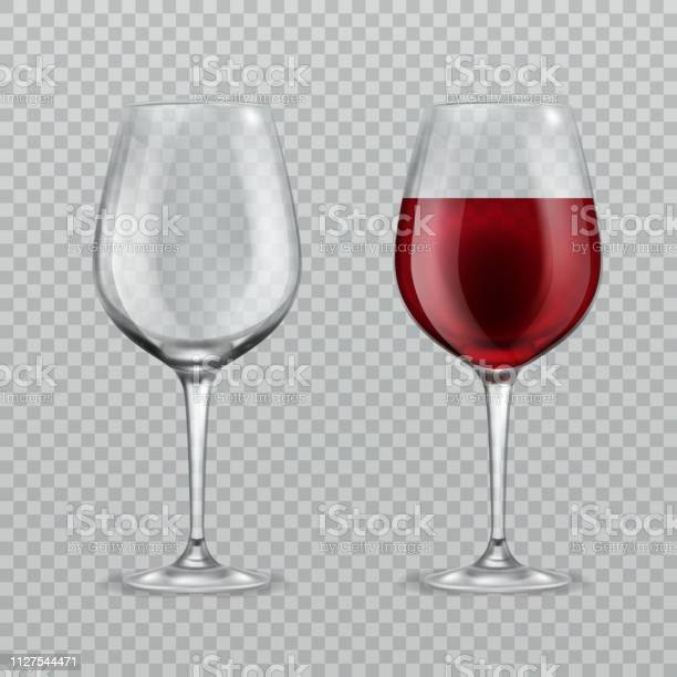Realistic wineglass empty and with red wine wineglasses isolated vector id1127544471?b=1&k=6&m=1127544471&s=612x612&h=k w8x4ynbkfug7tnjafqfuyskmxuf oveoopuroshuq=