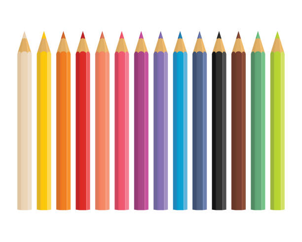 Best Colored Pencil Illustrations, Royalty-Free Vector ...