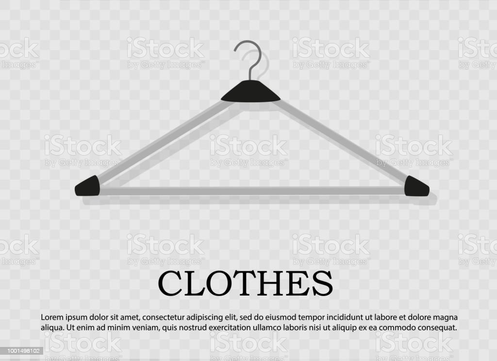 realistic wooden hangers for coats sweaters dresses skirts pants design