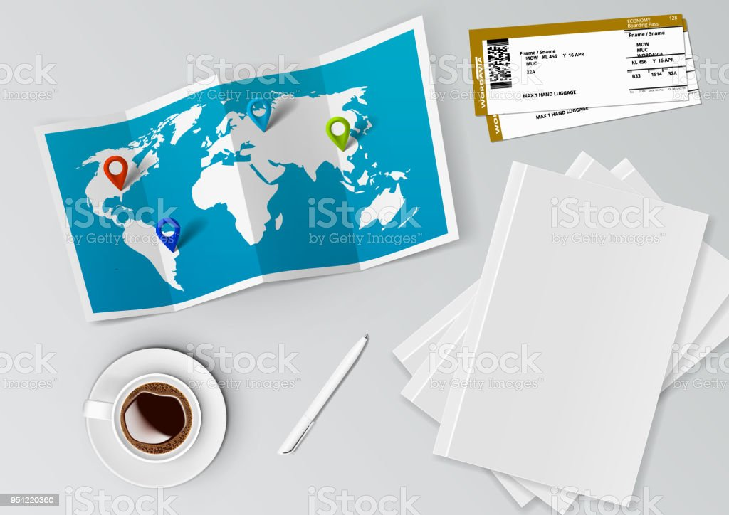 Realistic world map with tag pins stock vector art more images of realistic world map with tag pins royalty free realistic world map with tag pins stock gumiabroncs Choice Image