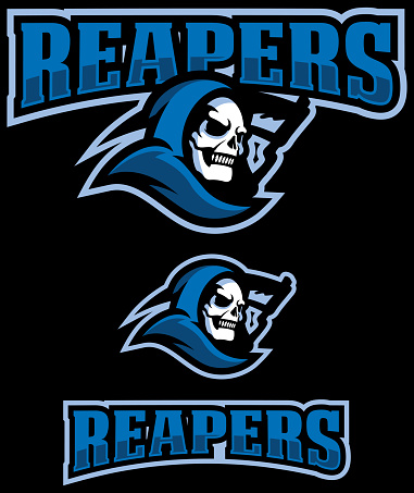 Reapers Mascot Logo