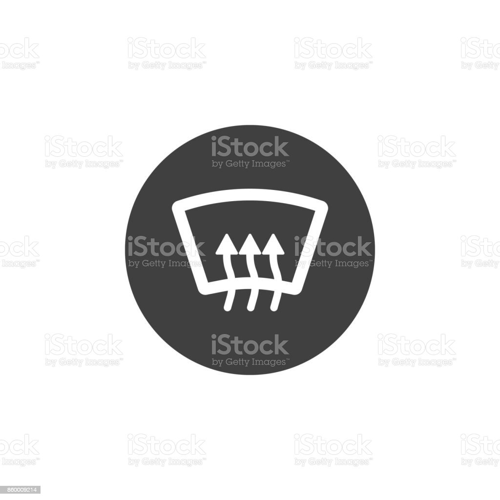 Rear Window Defrost Icon Stock Illustration Download Image Now Istock
