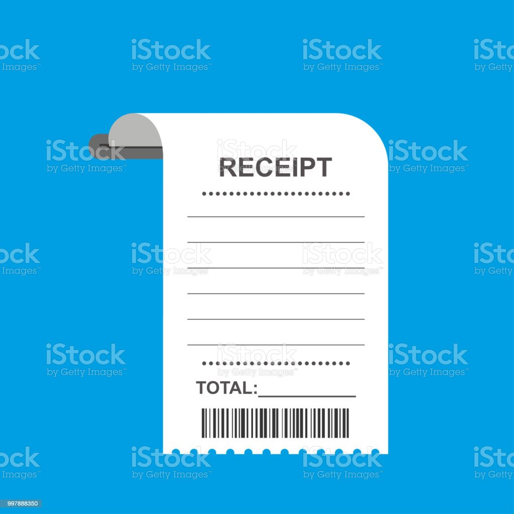 royalty free grocery store receipt clip art  vector images