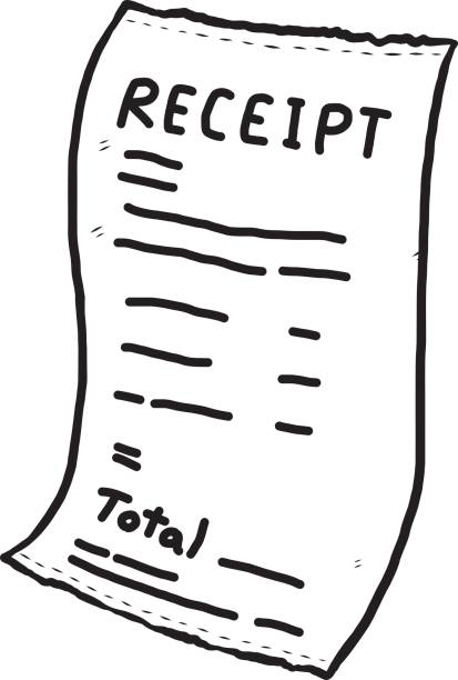 Image result for receipts clipart