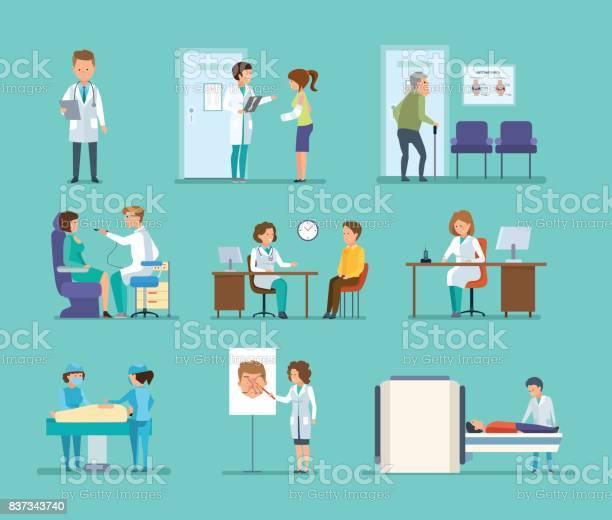 Reception by doctors therapist radiologist surgeon dentist oculist vector id837343740?b=1&k=6&m=837343740&s=612x612&h= zii9le gpvjuyeiioxzox4lm7eiqumnuxvb31wfkre=