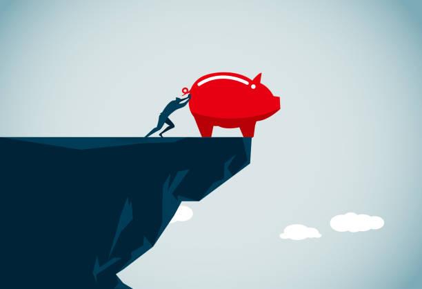 recession commercial illustrator cliffs stock illustrations