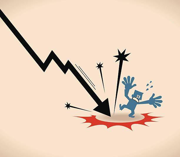 ilustraciones, imágenes clip art, dibujos animados e iconos de stock de recesión - embargo hipotecario